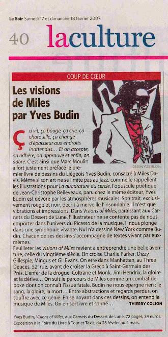 Critique Le Soir 17/02/2007 ::: Thierry Coljon