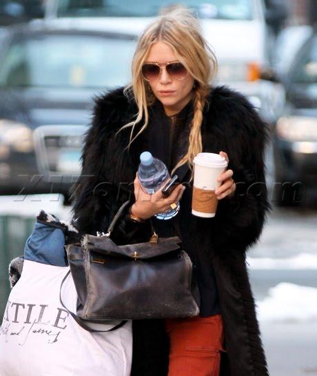 BIRKIN WATCHER: Mary Kate Olsen