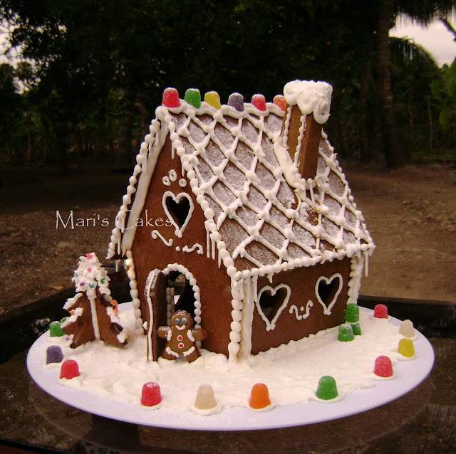 Gingerbread House How To Mari 39 S Cakes English