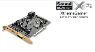 Creative X-Fi Xtreme Gamer Fatal1ty Pro