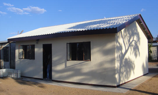 Moladi south africa low cost housing building html for Low cost home construction