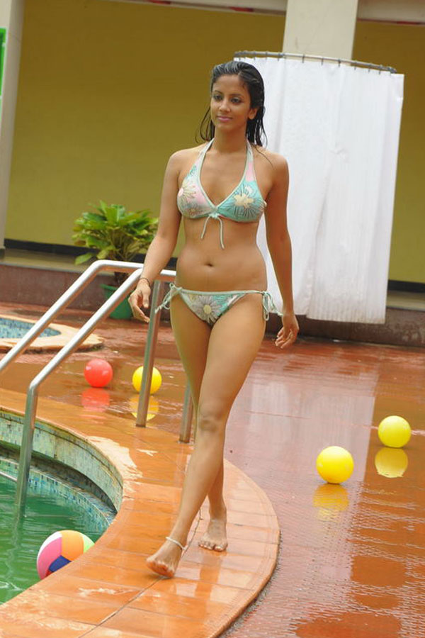 Indian actress in bikini