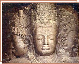 The famous Elephanta Caves
