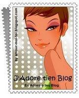 Selinho eu adoro seu blog
