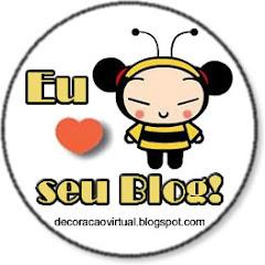 Selinho Amo Seu Blog