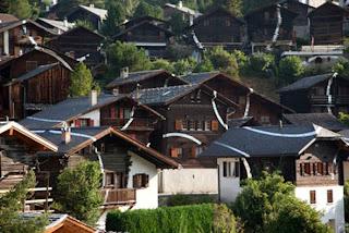 Sebuah Desa yg Menjadi Ilusi Optik