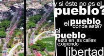 Vues aériennes de la manifestation du 1er mai.