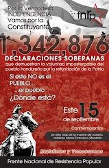 1,346.876 honduriens ont dit OUI à la constituante.