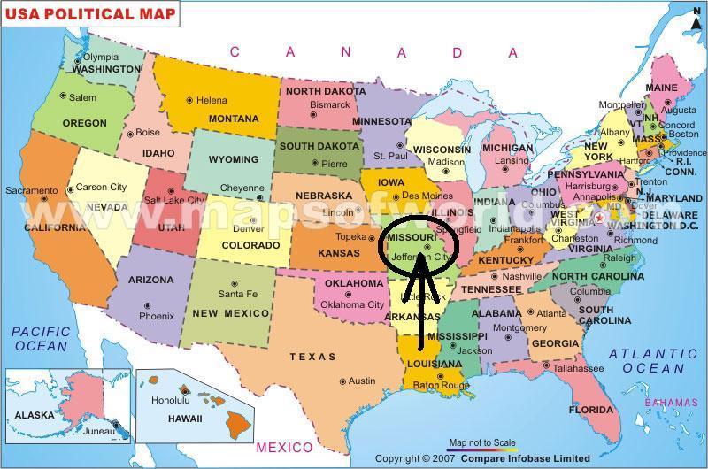 Mapas De Usa - Mapas usa