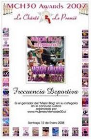 Mejor Blog Deportivo 2007