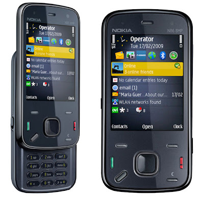 Feature of Nokia N86