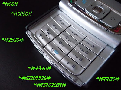 Nokia secret codes