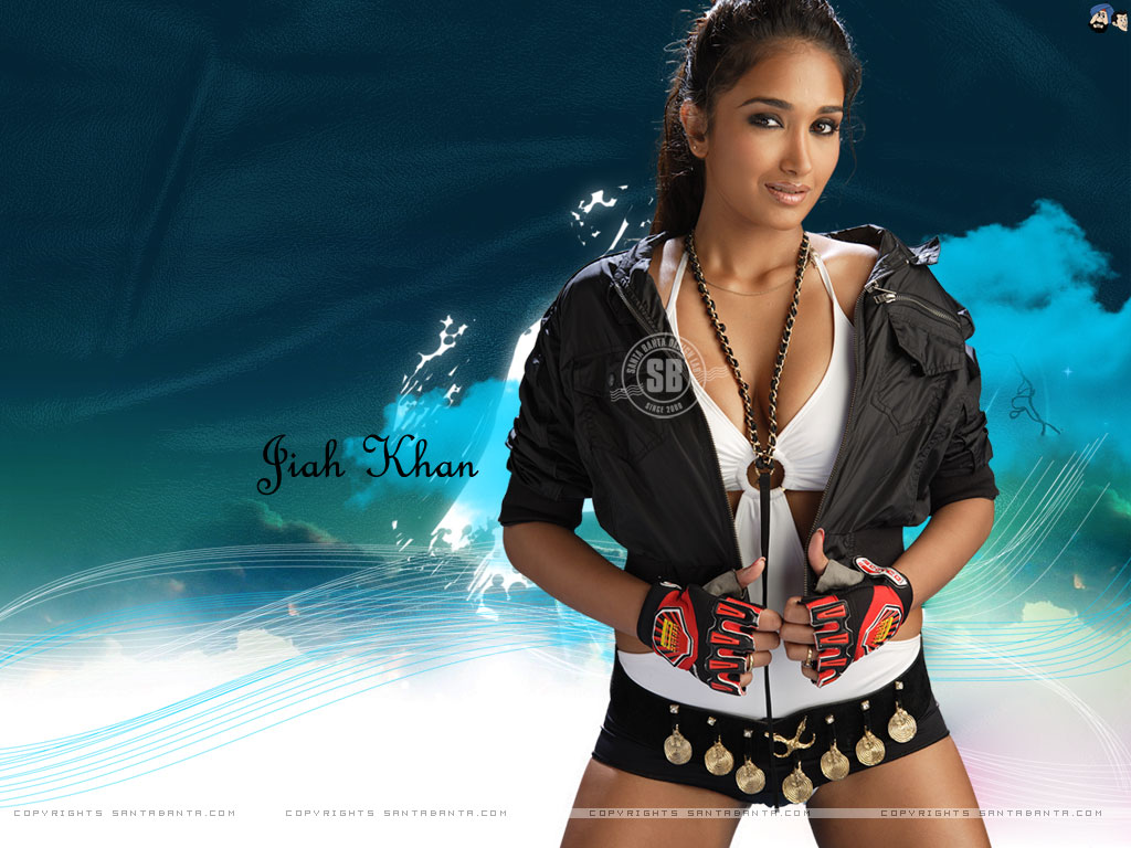 Jiah Khan hot