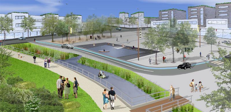 La petite hollande participation urbaine dans la ville de for Les espaces publics urbains