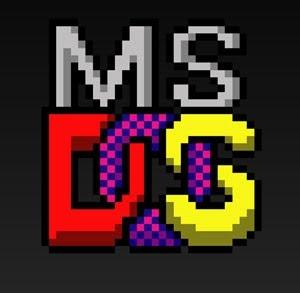 ms dos logo