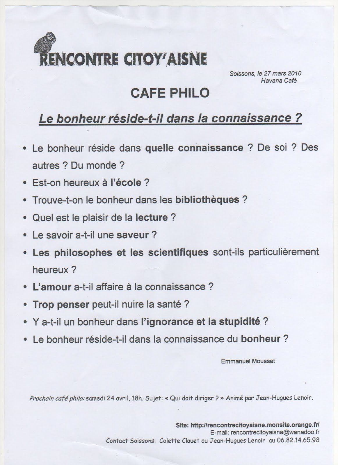 intro de dissertation de philosophie