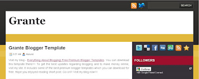 grante-blogger-template