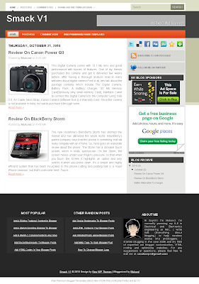 Smack-V1-Blogger-Template