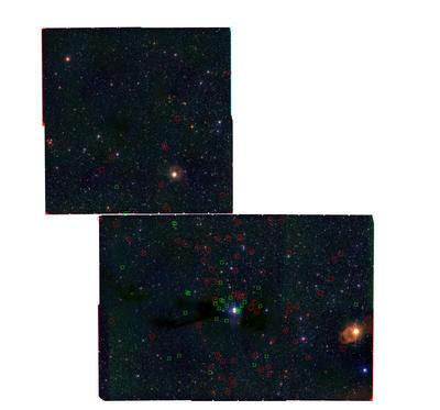 Descubierta nueva poblacion de estrellas y enanas marrones en Lupus