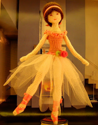 Вязаная крючком кукла балерина. Обсуждение на LiveInternet