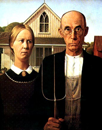 THE AMERICAN GOTHIC TWO POEMS