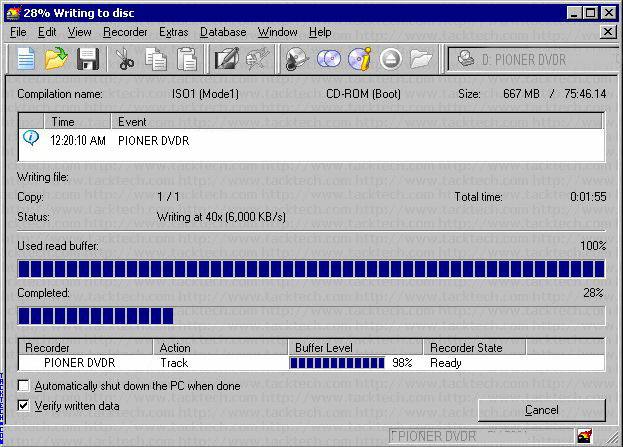 How to write a bootable xp cd