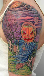 scarecrow tattoo
