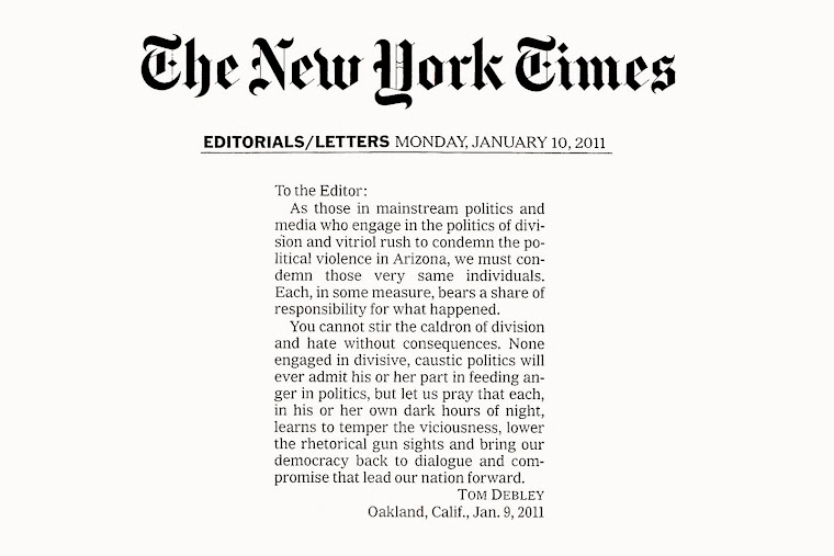 Read my letter in the New York Times about the debate over civility in America.