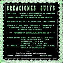 """ESTE WEB-BLOG HA SIDO CREADO - DISEÑADO Y EDITADO POR """"CREACIONES GULYS"""""""