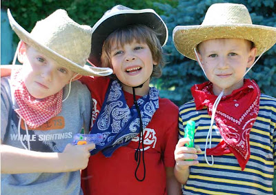 a cowboy birthday party