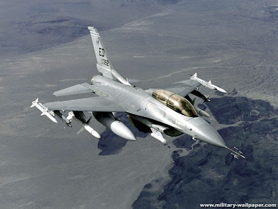 Gambar Pesawat F16 Fighting Falcon Jet Fighter