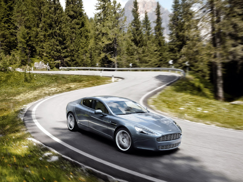 2011 Aston Martin Rapide V12-4 door sedan