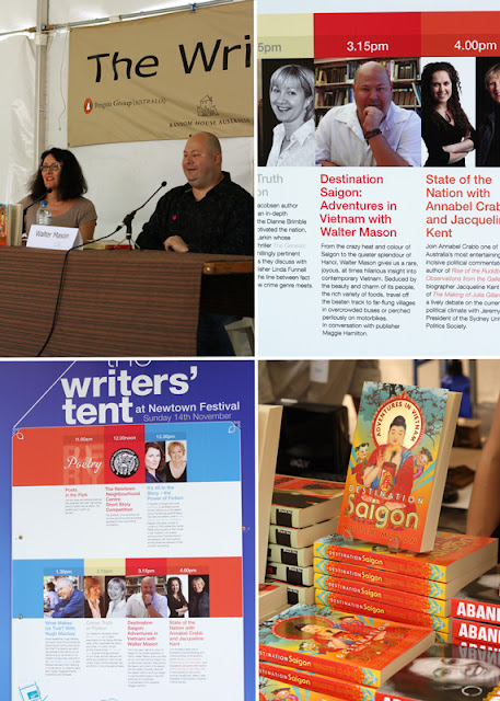 Newtown Festival, Writers' Tent, Walter Mason