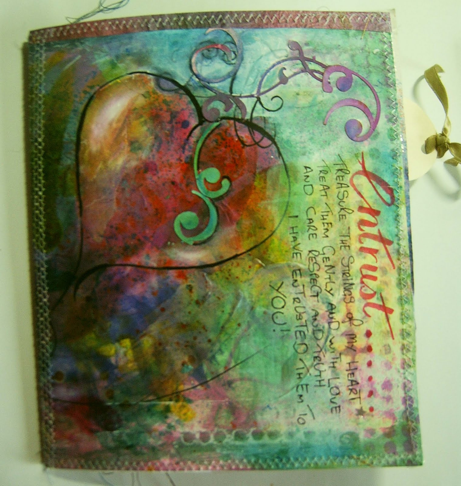 Art Journal Cover - Vi...