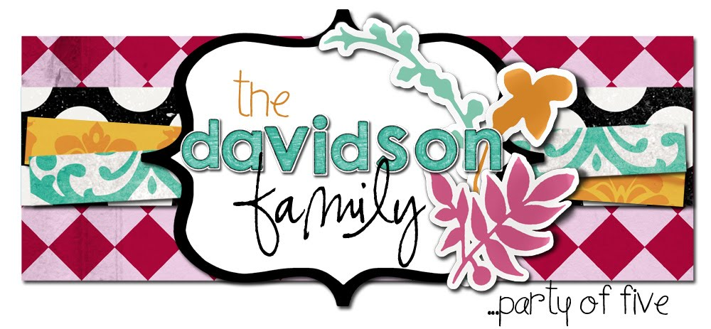 The Davidson Family - Party of Five