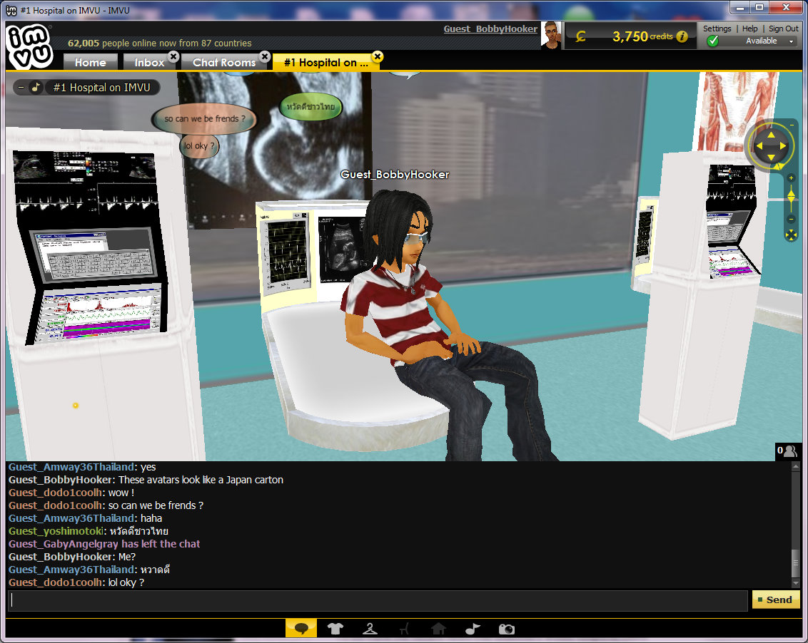 Finding Sex in IMVU, Freud in the Metaverse