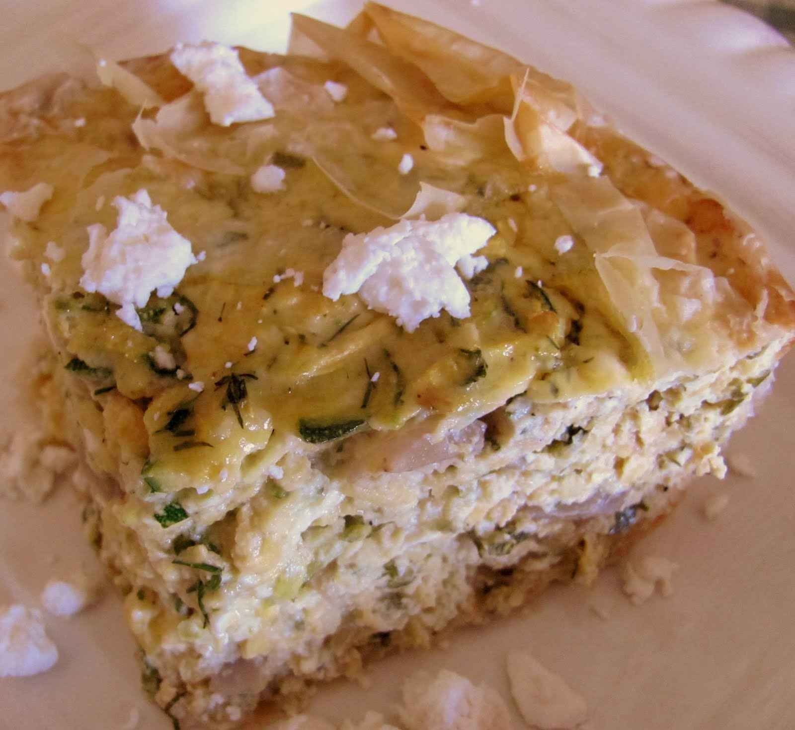 ... on Restricted Diets Distinctive Diabetic Recipes: Greek Zucchini Pie