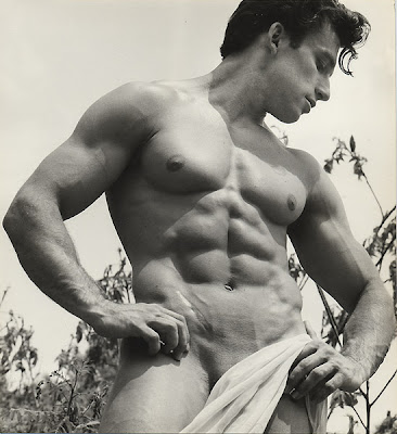 Surprisingly contemporary in his approach to the both the male physique and photographic technique, the man that called himself