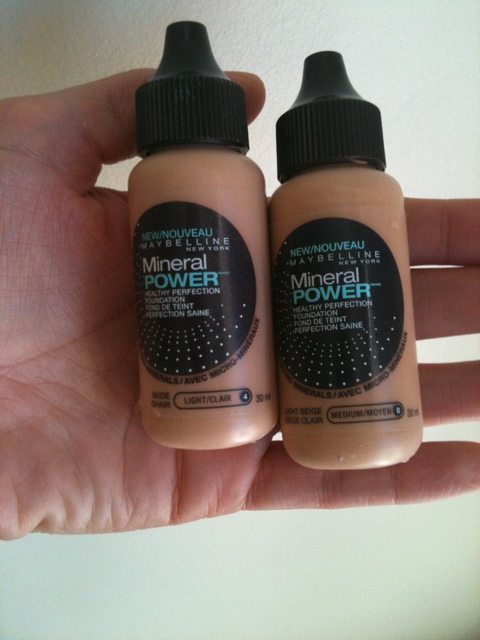 Maybelline Pure Makeup Review. Maybelline Pure Liquid Mineral