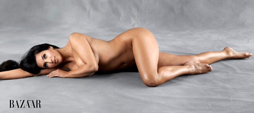 kim kardashian naked in playboy