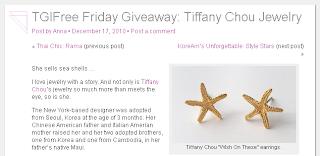 Tiffany Chou clam necklace