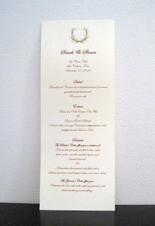 What Is The Order Of A Wedding Reception