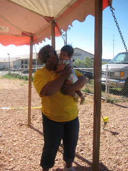 Pastor Robbin on the Navajo Reservation