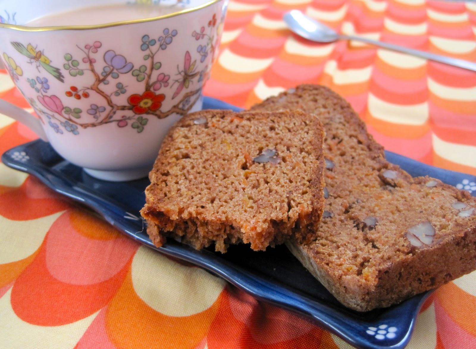 delectably gluten-free: Cinnamon Carrot Bread