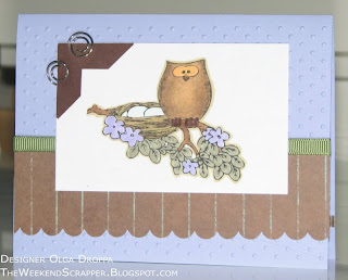 Owl Always Love you, GinaK, owl, Copic, coloring, card, handmade, stamping, cute card