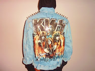 """KISS"" JEAN JACKET"
