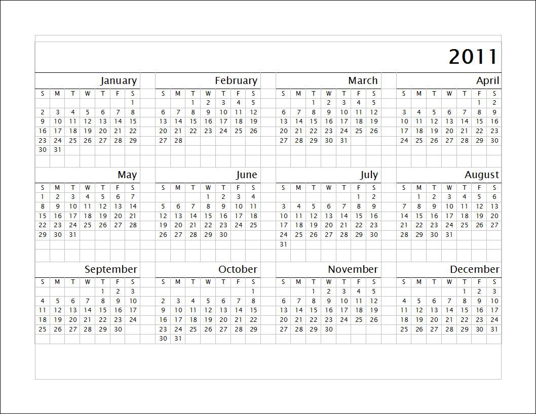 Calendar A : Allround calendar