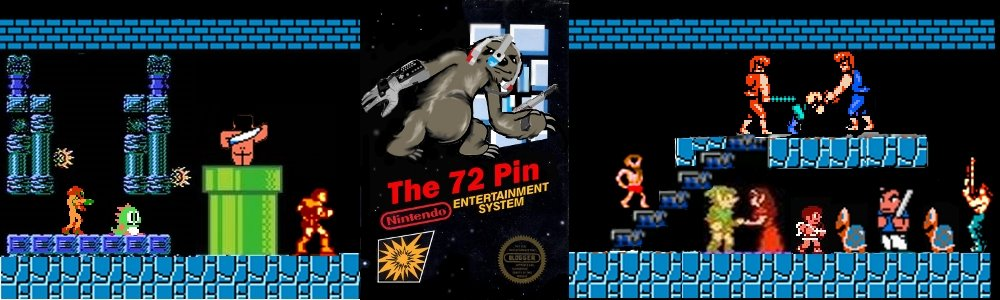The 72 Pin- Nintendo NES Blog