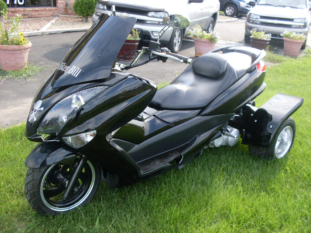 Luisrideauto 2009 Tricycle Moped Scooter 150 Cc With