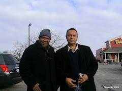 Bulolo MP Hon. Sam Basil and I